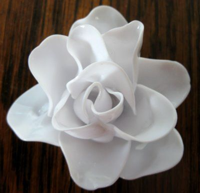plastic flower art 21