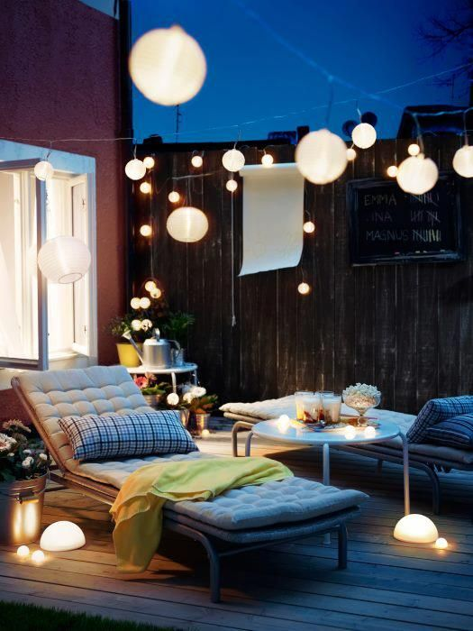 terrace lighting ideas 10
