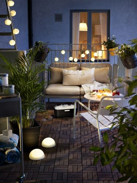terrace lighting ideas 15