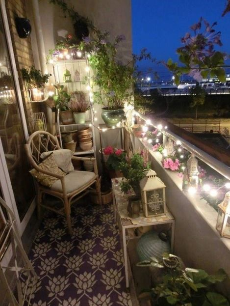 terrace lighting ideas 17