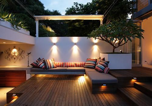 terrace lighting ideas 2