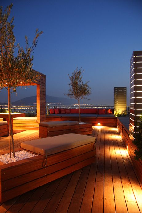 terrace lighting ideas 21
