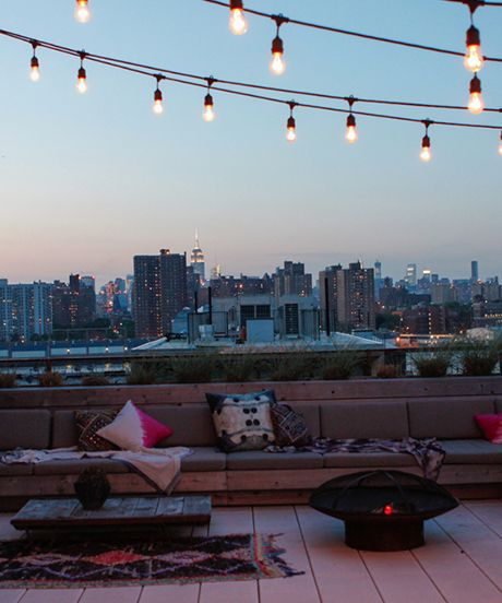 terrace lighting ideas 22