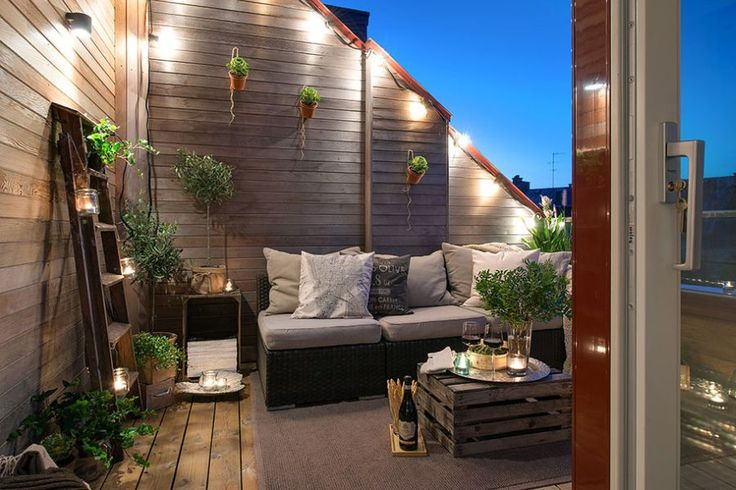 terrace lighting ideas 24