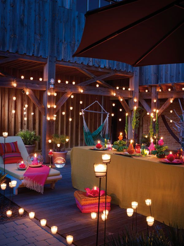 terrace lighting ideas 25