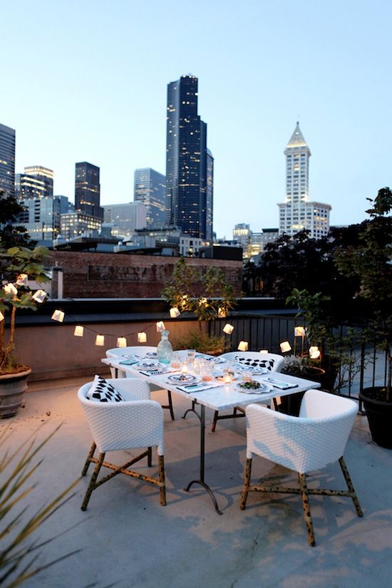 terrace lighting ideas 26