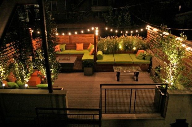 terrace lighting ideas 27