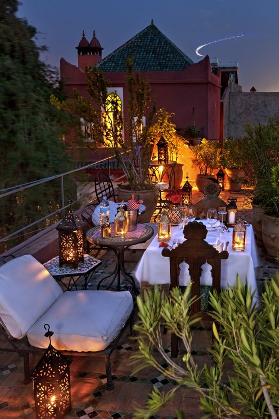 terrace lighting ideas 29