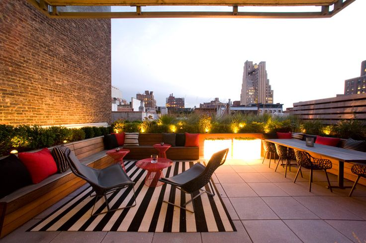 terrace lighting ideas 30