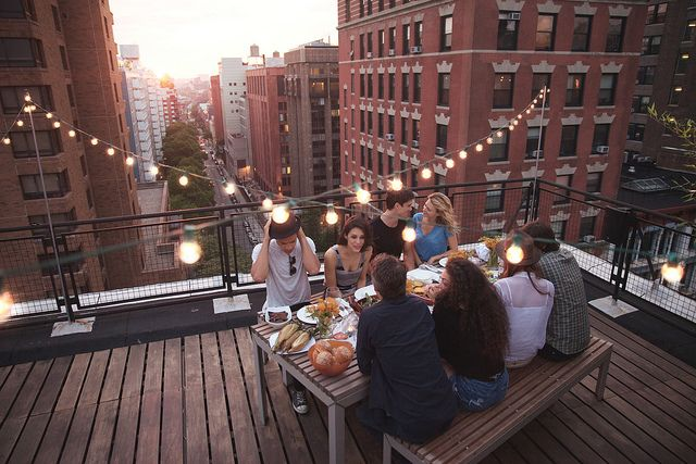 terrace lighting ideas 31