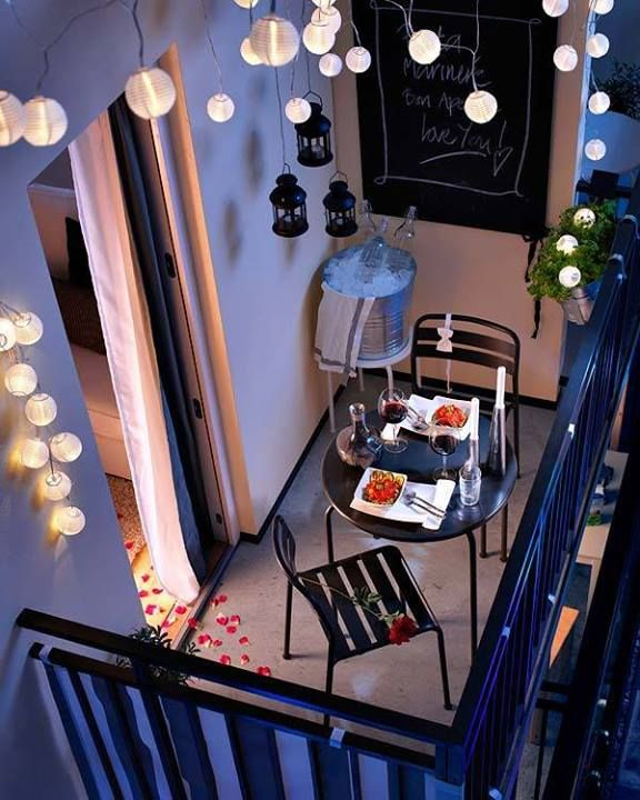 terrace lighting ideas 7