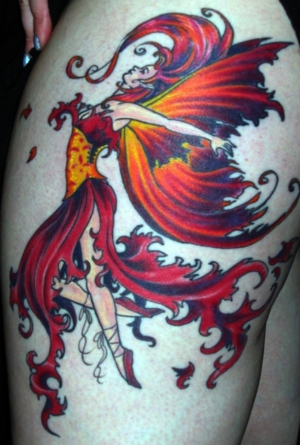 Adorable Fairy Tattoo Designs (31)