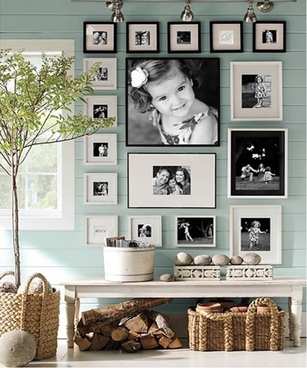 Best Family Picture Wall Decoration Ideas (10)