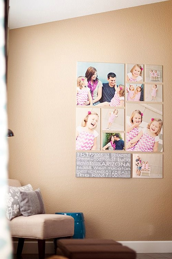 Best Family Picture Wall Decoration Ideas (16)