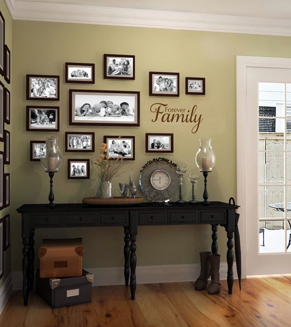 Best Family Picture Wall Decoration Ideas (17)