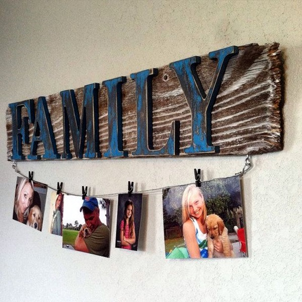 Best Family Picture Wall Decoration Ideas (2)