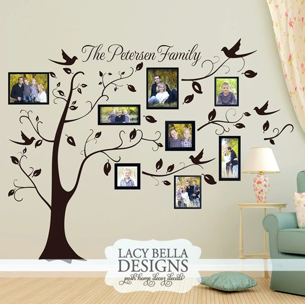 Best Family Picture Wall Decoration Ideas (24)