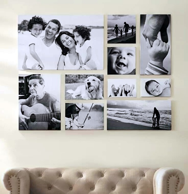 Best Family Picture Wall Decoration Ideas (25)