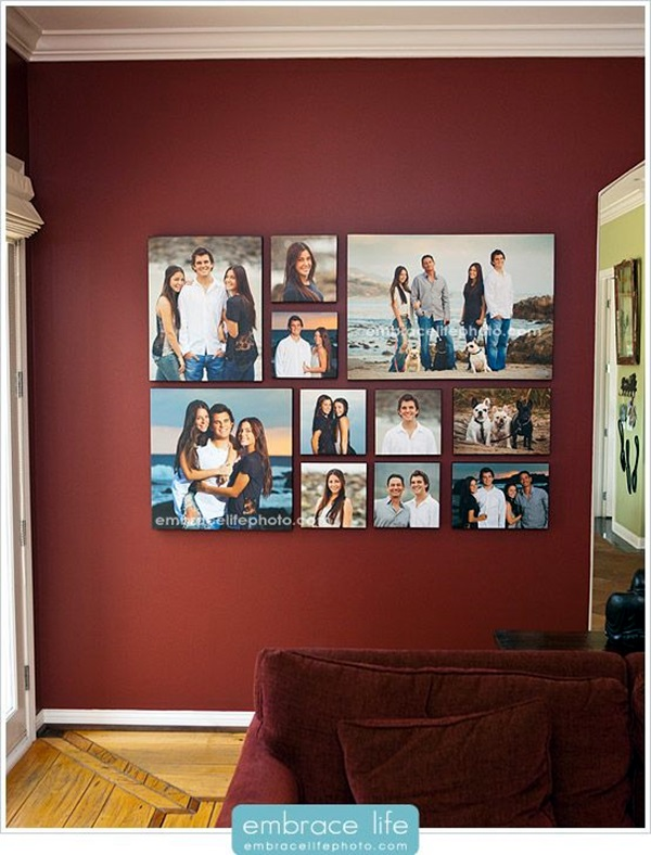 Best Family Picture Wall Decoration Ideas (26)