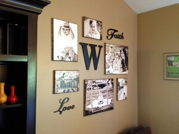 Best Family Picture Wall Decoration Ideas (27)