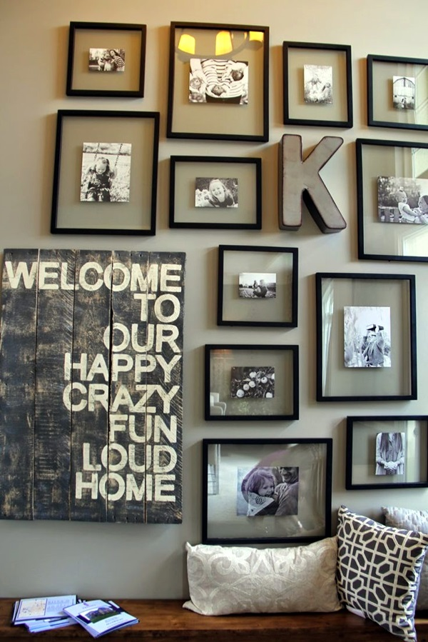 Best Family Picture Wall Decoration Ideas (3)