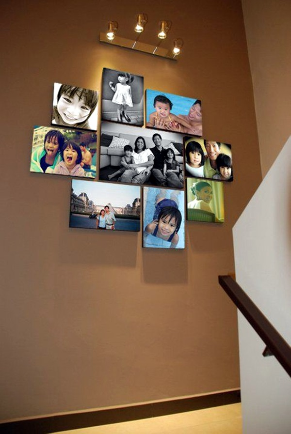 Best Family Picture Wall Decoration Ideas (8)