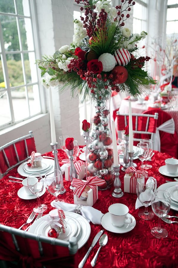 christmas table decoration ideas (16)