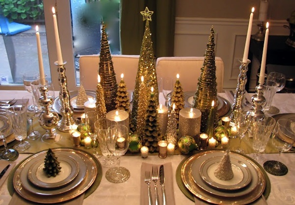 christmas table decoration ideas (19)