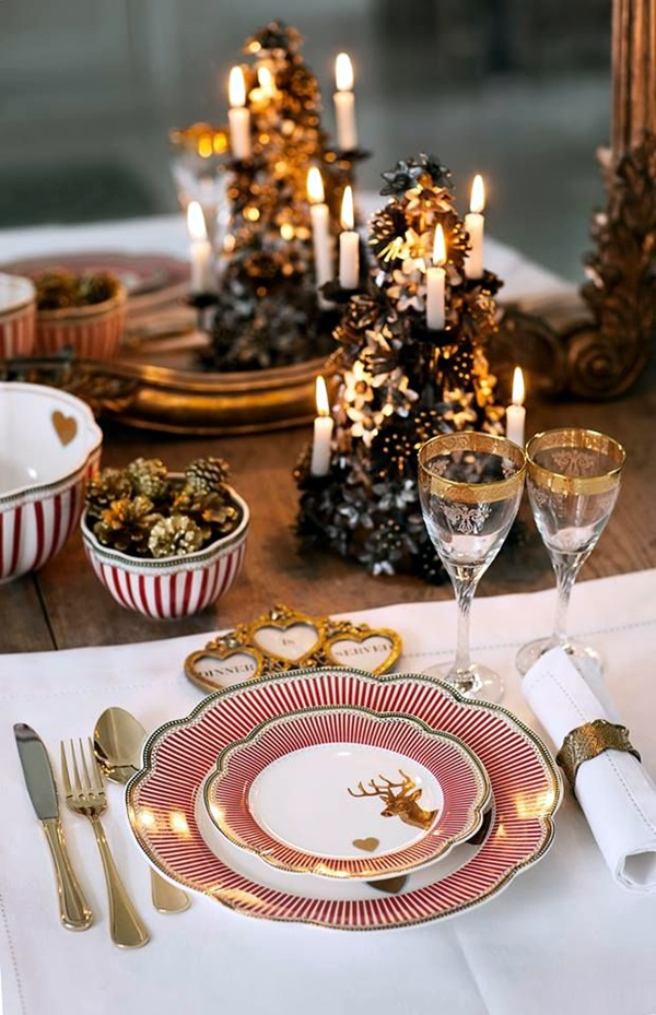 christmas table decoration ideas (2)