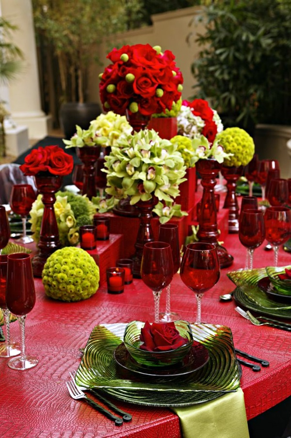 christmas table decoration ideas (20)