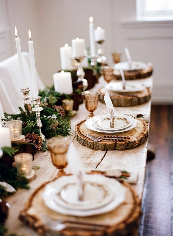 christmas table decoration ideas (22)