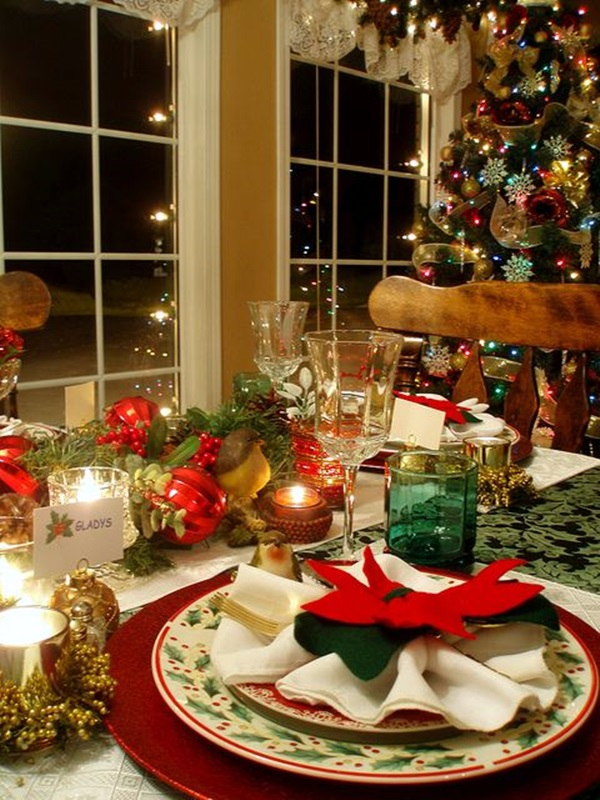 christmas table decoration ideas (24)
