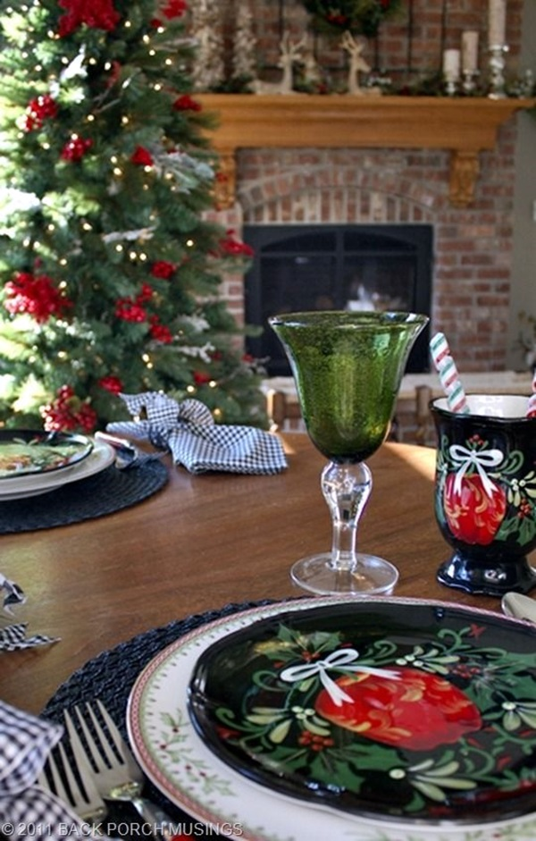 christmas table decoration ideas (26)