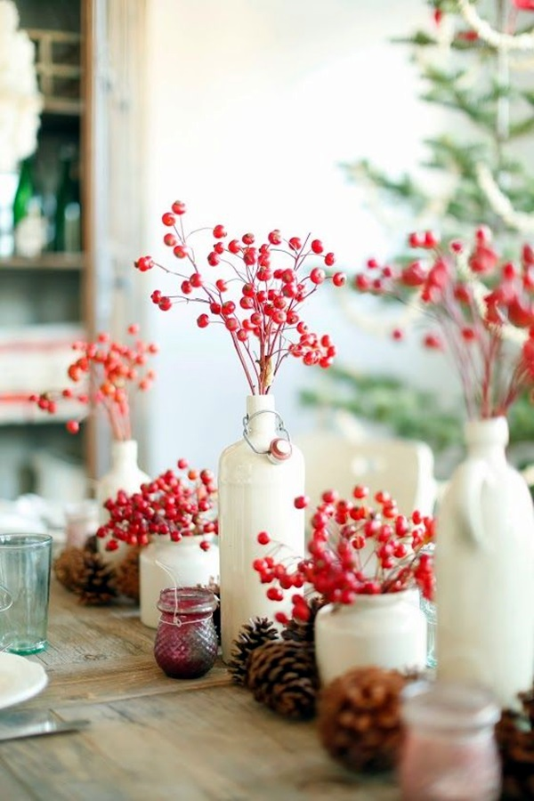 christmas table decoration ideas (27)