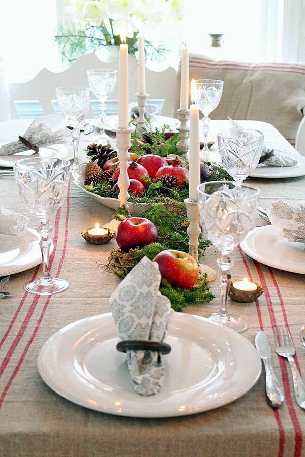 christmas table decoration ideas (28)