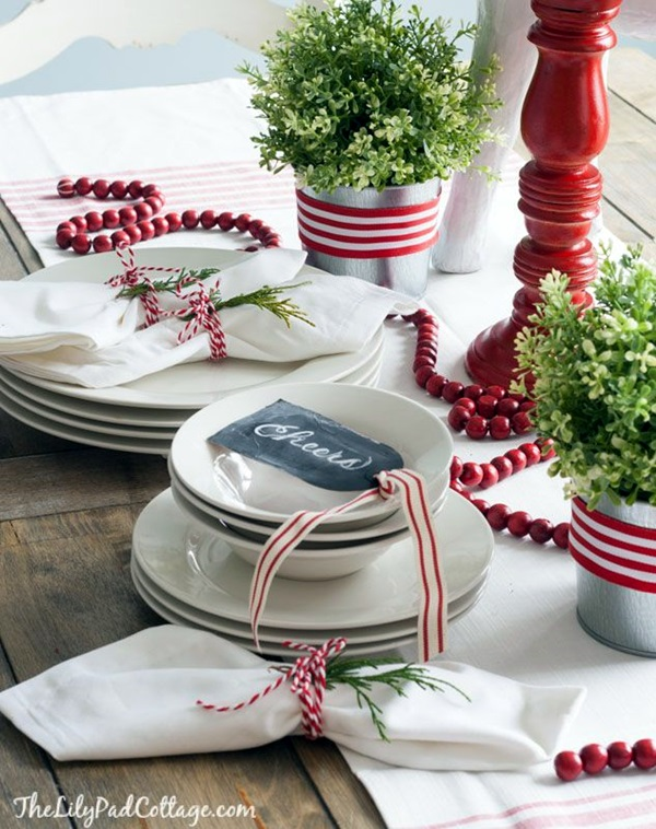 christmas table decoration ideas (29)
