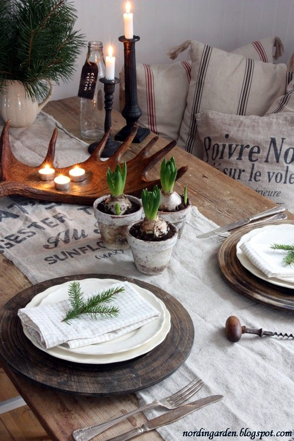 christmas table decoration ideas (3)