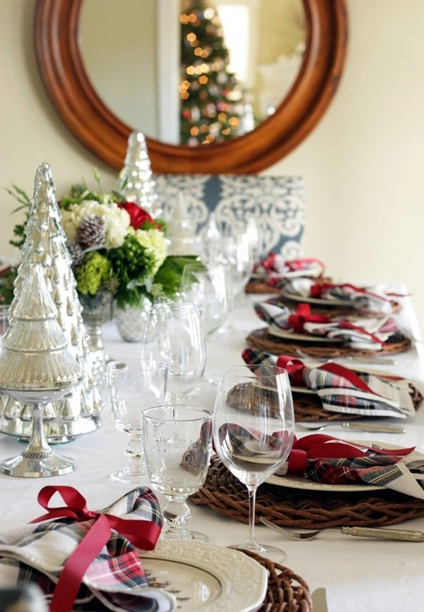 christmas table decoration ideas (40)