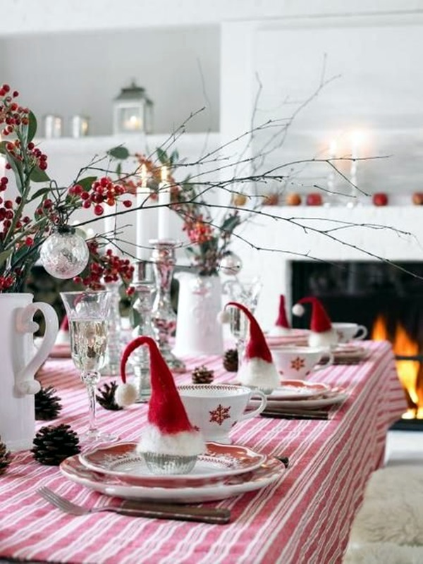 christmas table decoration ideas (42)