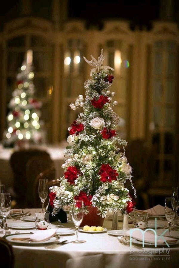 christmas table decoration ideas (7)
