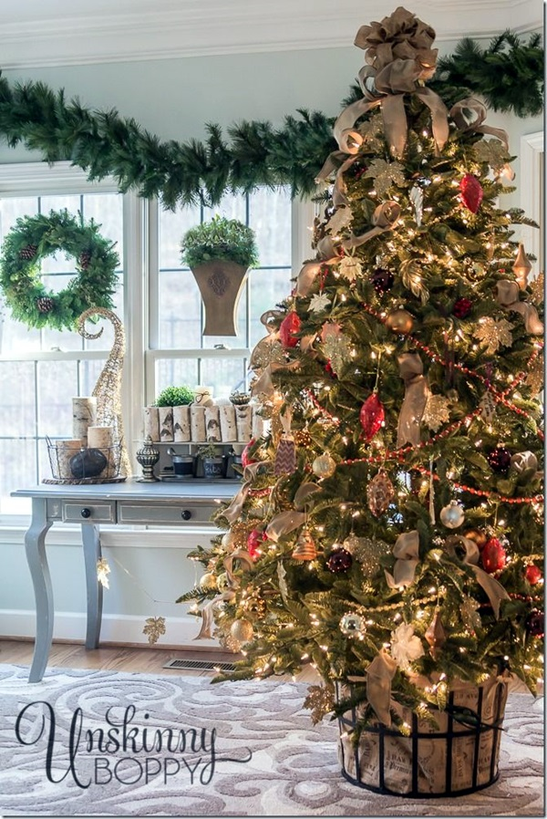 christmas tree decorating ideas (30)