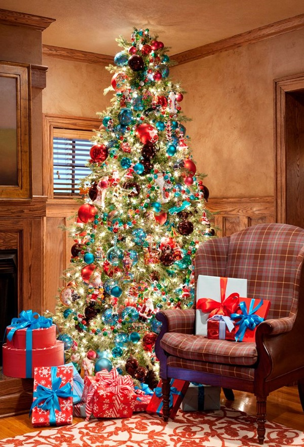 christmas tree decorating ideas (32)