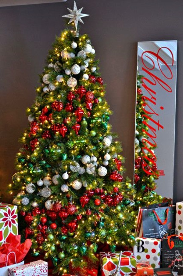 christmas tree decorating ideas (33)