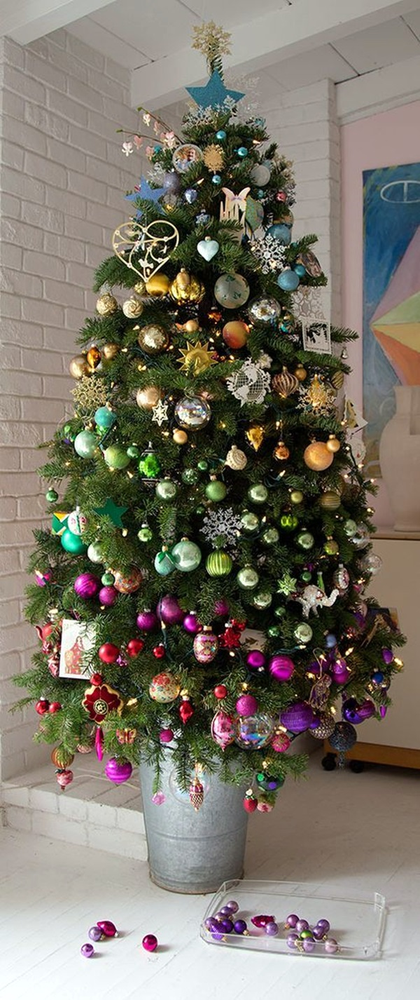 christmas tree decorating ideas (38)