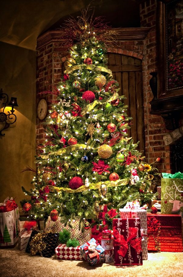 christmas tree decorating ideas (39)