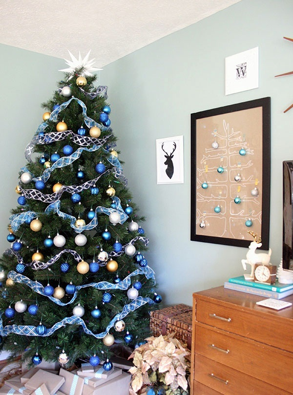 christmas tree decorating ideas (40)