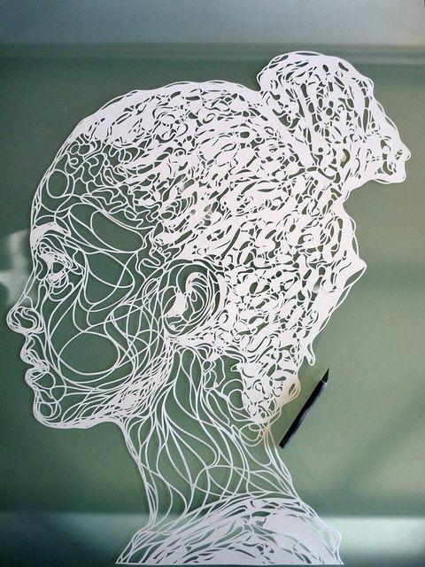 handcut paper art 16