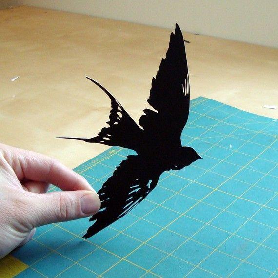 handcut paper art 18