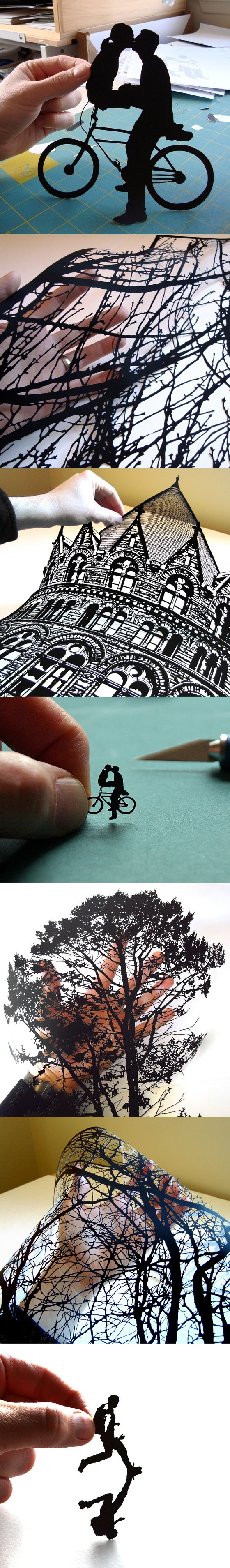handcut paper art 2