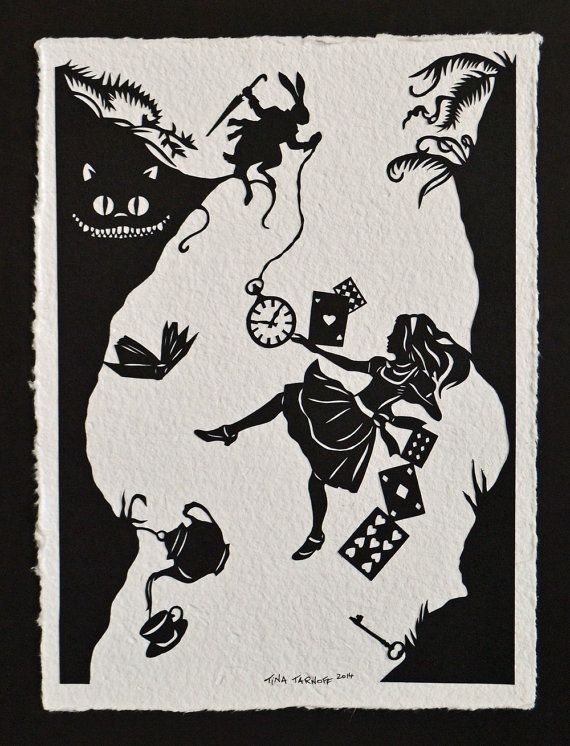 handcut paper art 20